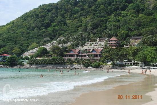 Пляж най харн — отличное место для отдыха с детьми (пхукет ...