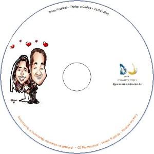 CD, DVD Personalizado - DJ para Casamento