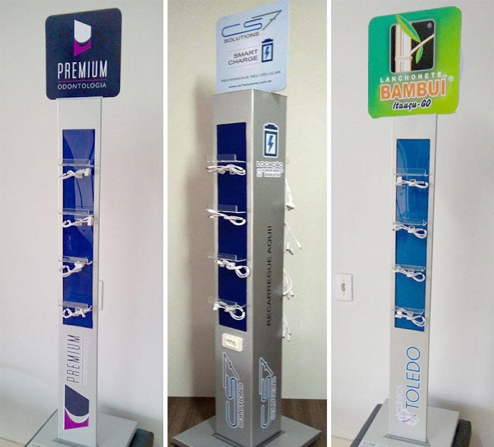 Aluguel Torre Carregador de Celular para Treinamento