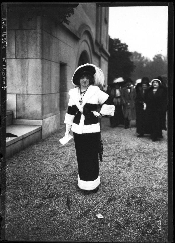 Мода парижских улиц 1910-1920 годов. мода, париж, Ипподром, история, длиннопост