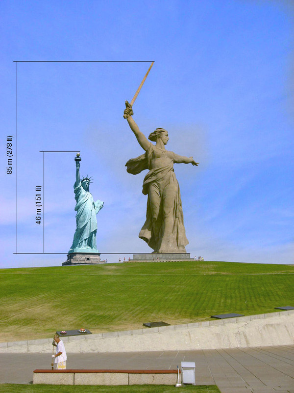 Статуя. Родина Мать Фото