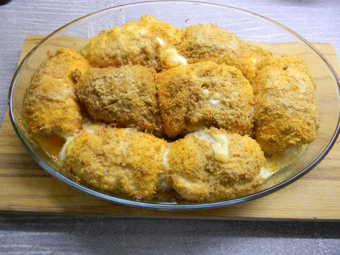 """Ginulong ng manok ang """"A la cordon-blue"""" sa oven Pagluluto, Recipe, Fillet, Cooking, Long-post, Manok"""