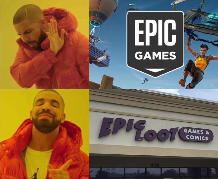 Сотни недовольных игроков в Fortnite ошибочно звонят в обычный американский магазин из-за его названия Fortnite, Epic Games, Epic Loot Games, геймеры, ошибка, не туда попали, длиннопост