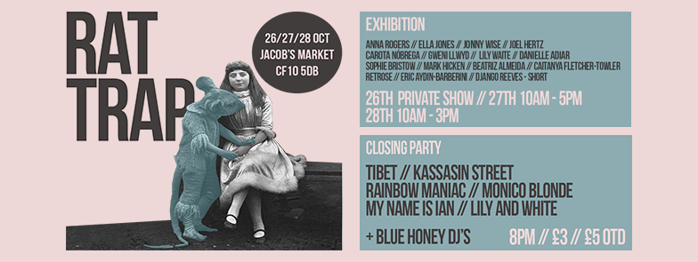 Exhibition at Jacobs Market, Cardiff