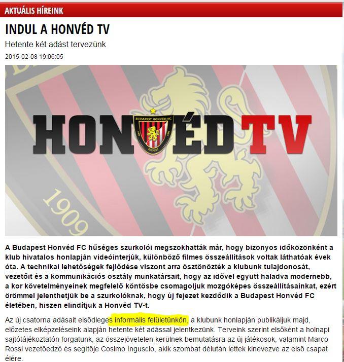 honved_tv_informalis