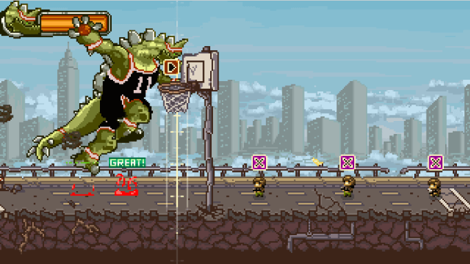 Super Kaiju Dunk City
