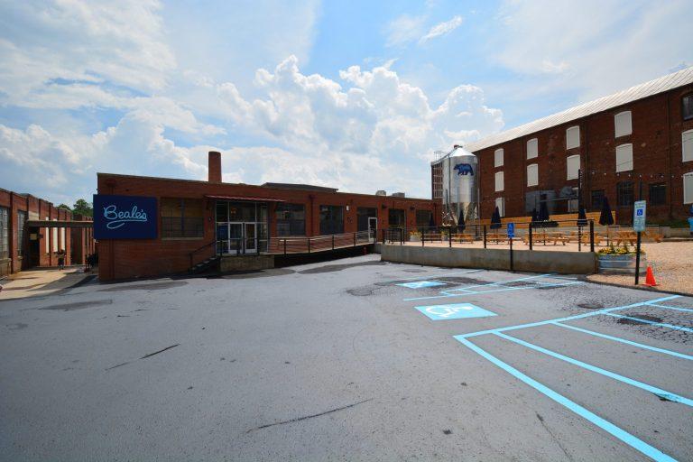 Beale's parking lot