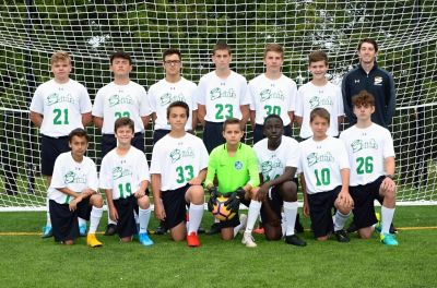 Boys JV Soccer Fall 2019-20