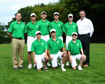 Boys Varsity Golf Fall 2019-20