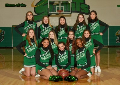 Girls JV Cheerleading 2018-19