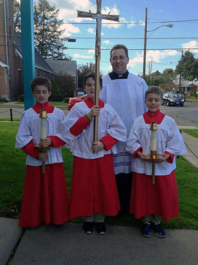 Seminarian and Altar Servers - Faith & Education
