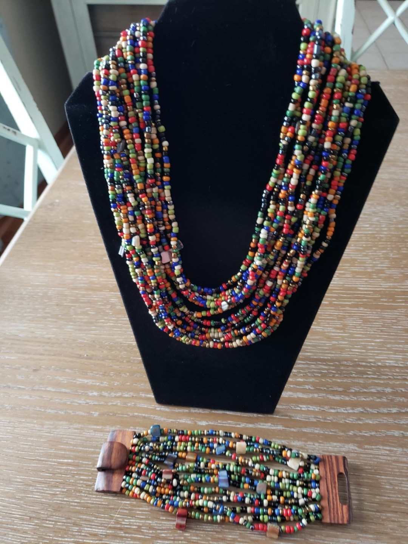 color necklace - Basket Raffle