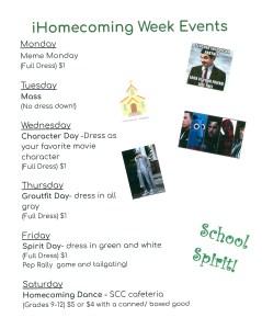 homecoming week 239x300 - Homecoming Week Events