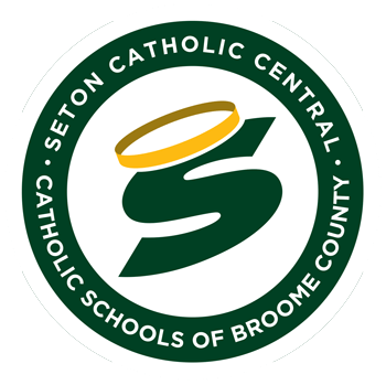 seton catholic central broome county logo white border350px - Spaghetti Dinner
