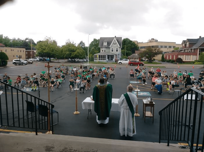 st james end of year mass - Saints on the Go