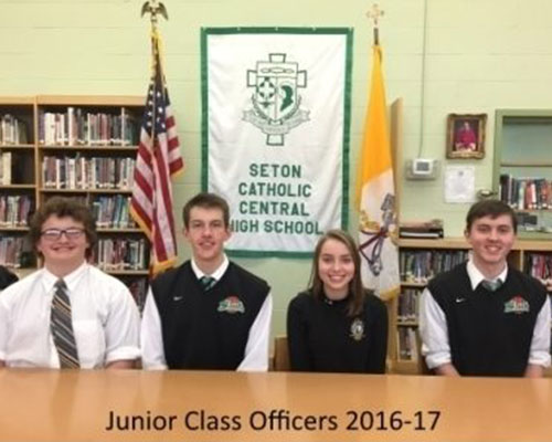 student-council-seton-catholic-central-high-school-broome-county-junior-officers
