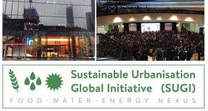 Sustainable Urbanisation Global Initiative (SUGI) Food-Water-Energy Nexus Logo - Source: [Author Unknown]. SUGI Nexus Logo. Digital Image. Erica Key LinkedIn Page, [Date Published Unknown]