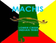 Ma-Chis Lower Creek Indian Tribe of Alabama flag