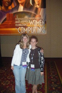 Camille Cobb '12 (right) with co-author Katie Baldwin