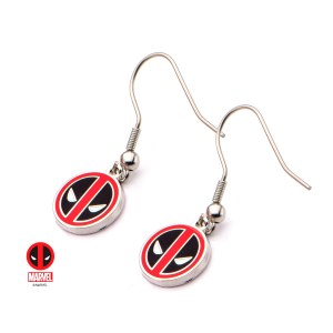 Deadpool Dangle Earrings