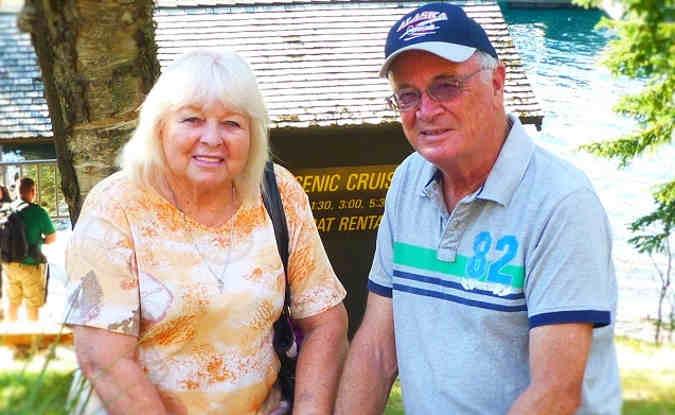Gordon and Sally Hunt