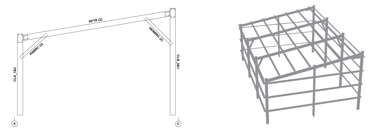 Csc Building Systems Gable Steel Buildings