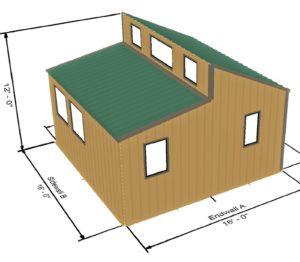 Tiny House 256 Sq Ft