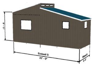 Tiny House 8 X 22