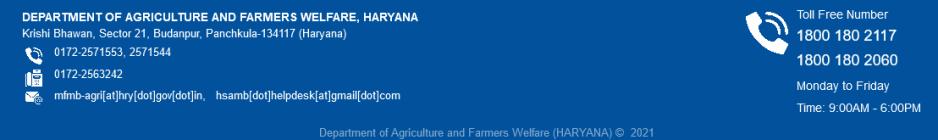Meri Fasal Haryana Registration
