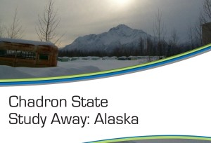 Chadron State Study Away Graphic