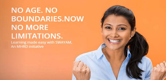 SWAYAM नि: शुल्क ऑनलाइन पाठ्यक्रम योजना EXAMINATION रजिस्ट्रेशन करने का आखिरी मौका
