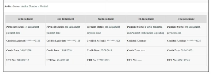 pm kisan new website payment status 2020