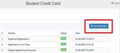 WB Student Credit Card Yojana check status