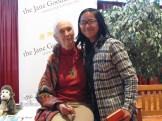 CS5 student Maia with Jane Goodall.