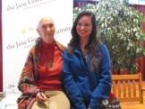 CS5 Student Tessa with Jane Goodall.