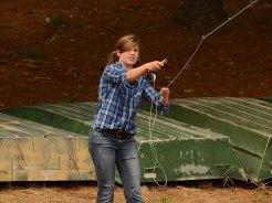 Fly fishing in English class