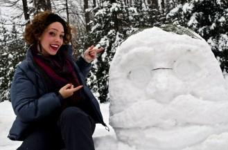 Snowy Teddy Roosevelt