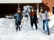 Klondike Days ice sculpture
