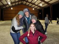 Ice skating in Land O' Lakes