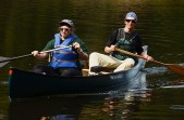 Paddling in the Sylvania Wilderness