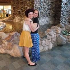 Maya and Heather