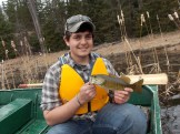 Jake with a smallmouth bass