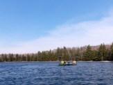 Kaelie, Flannery, Bird & Kaleb explore Little Donahue Lake