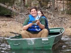 Matt with a smallmouth bass