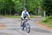 First bike ride