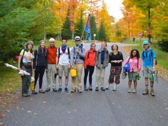 14-09-25 Sylvania LS Group Photo on Road