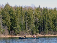 Laszlo and Ava on Big Bateau Lake