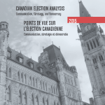 Book cover Canadien Election Analysis 2015