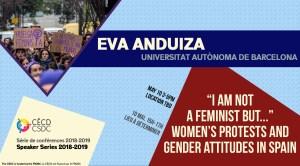 Série de Conférences: Eva Anduiza @ Montreal | Quebec | Canada