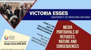 Série de Conférences: Victoria Esses @ Salle D-427, Pavillon Marie-Victorin, Université de Montréal | Montreal | Quebec | Canada